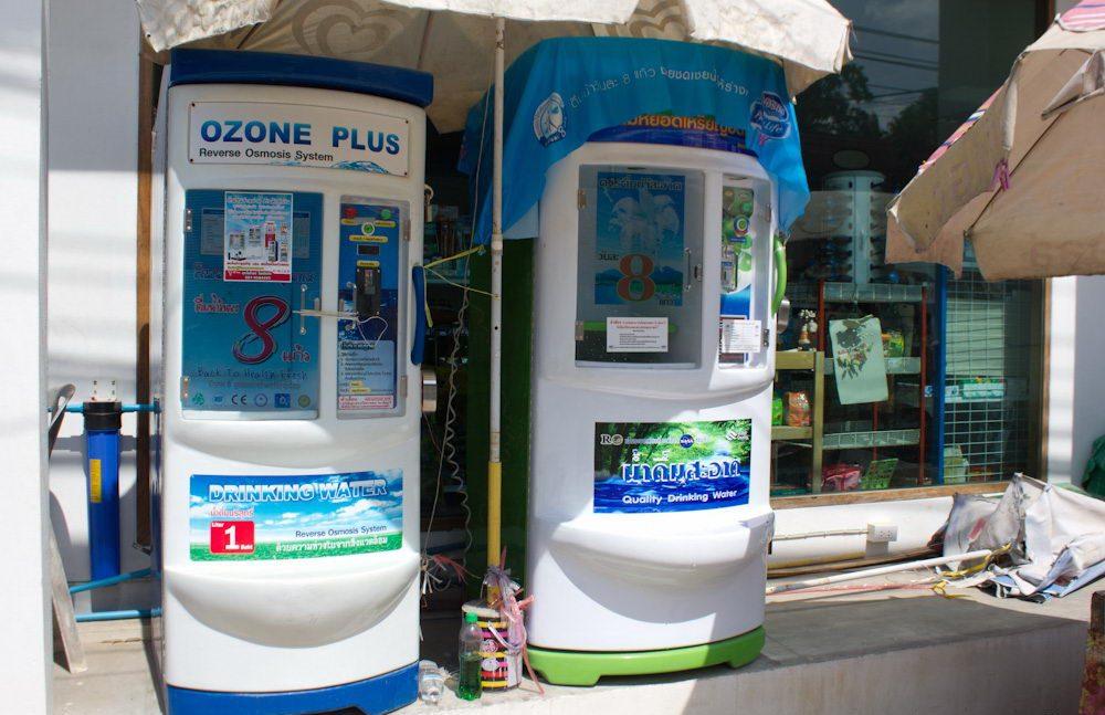 Автоматы с питьевой водой