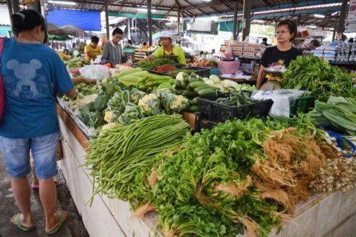 Утренний рынок Маенам