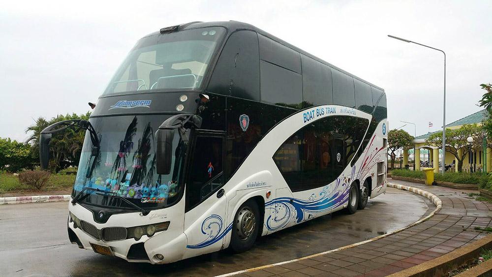 Автобус Пхукет-Самуи