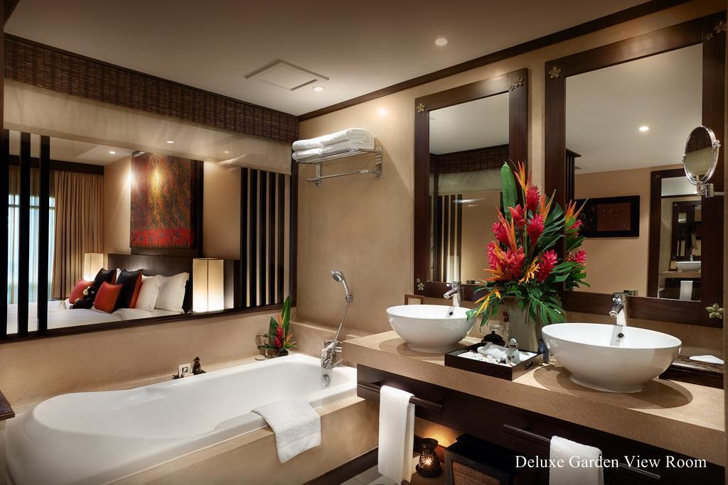 Ванная комната в делюксе