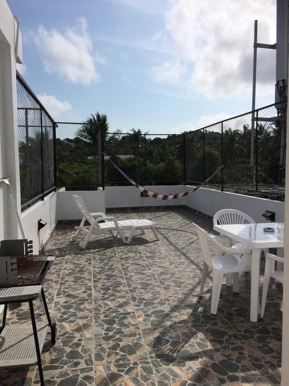 Балкон с гамаком