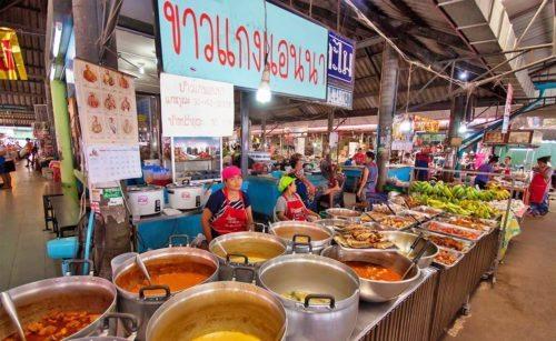Продуктовый рынок на Ламаи