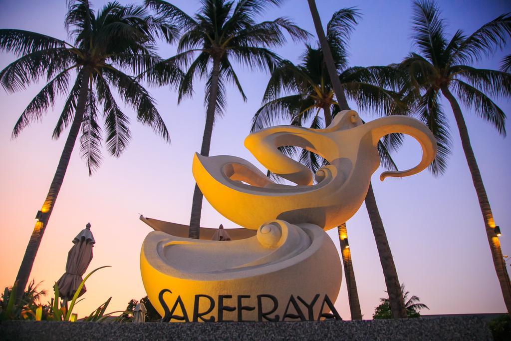 Скульптура с названием отеля Sareeraya