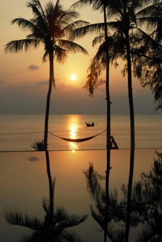 Закат на Тонг Янге
